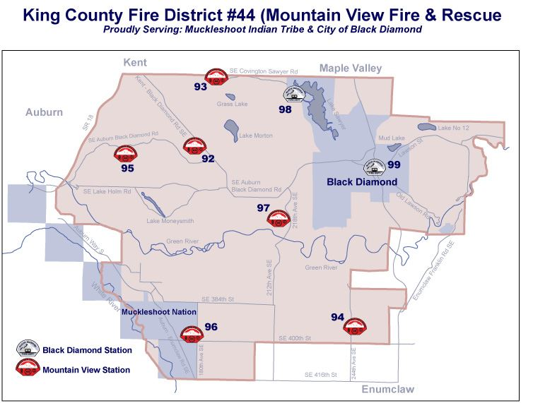 King County Fire District #44 Map